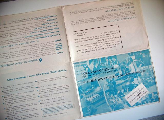 Corso Radio 1952 - Fascicolo pubblicitario (interno2)