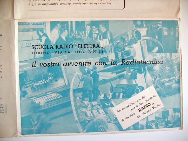Corso Radio 1952 - Fascicolo pubblicitario (interno)