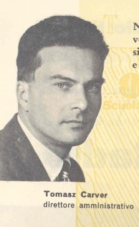 Tomasz Carver Paszkowski - direttore amministrativo